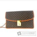 Authentic CELINE  Macadam pattern business bag PVC