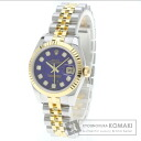 Authentic ROLEX Oyster Perpetual 179173G Watch stainless steel 18K Yellow Gold Self-winding Ladies