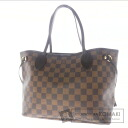 Authentic LOUIS VUITTON  Neverfull PM N51109 Tote bag Damier Canvas