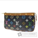 Authentic LOUIS VUITTON  Pochette Accessoires M92648 Accessory pouch Monogram Multicolore canvas