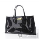 Authentic LOUIS VUITTON  Wilshire PM M93641 Handbag Vernis
