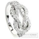 Authentic GUCCI  Diamond Ring 18K White Gold