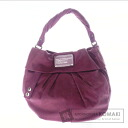 Authentic MARC BY MARC JACOBS  with logo Shoulder bag Leather