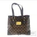 Authentic LOUIS VUITTON  Hampstead PM N51205 Handbag Damier Canvas