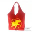 Authentic HUNTING WORLD  Logo pattern Shoulder bag Canvas