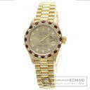 Authentic ROLEX Datejust Watch 18K Yellow Gold   Ladies