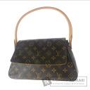 Authentic LOUIS VUITTON  Mini looping M5114 Handbag Monogram canvas
