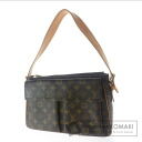 Authentic LOUIS VUITTON  Vu~ibashite GM M51163 Shoulder bag Monogram canvas