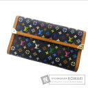 Authentic LOUIS VUITTON  Porto Torre zole International M92658 (With coin purse) Purse Monogram Multicolore canvas
