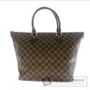 Authentic LOUIS VUITTON  SaleyaMM N51188 Handbag Damier Canvas