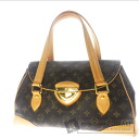 Authentic LOUIS VUITTON  Beverly GM M40120 Shoulder bag Monogram canvas
