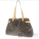 Authentic LOUIS VUITTON  Batignolles Horizontal M51145 Shoulder bag Monogram canvas