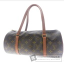 Authentic LOUIS VUITTON  Papillon old pouch Handbag Monogram canvas