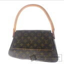 Authentic LOUIS VUITTON  Mini looping M5114 Shoulder bag Monogram canvas