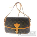 Authentic LOUIS VUITTON  Sologne M42250 Shoulder bag Monogram canvas