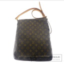 Authentic LOUIS VUITTON  Musette salsa L M6429 Shoulder bag Monogram canvas