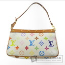 Authentic LOUIS VUITTON  Pochette access Soir M92649 Accessory pouch Monogram Multicolore canvas