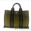 Authentic HERMES  Sac Fourre Tout PM Tote bag Canvas
