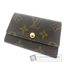 Authentic LOUIS VUITTON  Multicles6 Monogram M62630 Key case Monogram canvas
