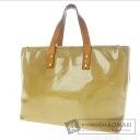 Authentic LOUIS VUITTON  Lead PM M91334 Handbag Vernis