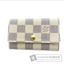 Authentic LOUIS VUITTON  Myurutikure 6 N61745 Key case Damier Canvas