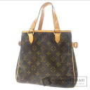 Authentic LOUIS VUITTON  Batignolles M51156 Handbag Monogram canvas
