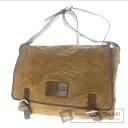 Authentic Cole Haan  Wrinkles processing design Shoulder bag Leather