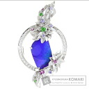 Authentic 日本の伝統美  Opal / Diamond Pendant PlatinumPT900