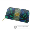 Authentic Tory Burch  with logo pattern material (With coin purse) Purse Coating canvas