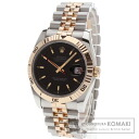 Authentic ROLEX Datejust Watch 18K Pink Gold SS  Men