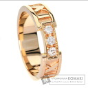 Authentic TIFFANY&Co.  Atlas / Diamond Ring 18K Pink Gold
