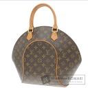 Authentic LOUIS VUITTON  Ellipse MM M51126 Handbag Monogram canvas