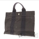 Authentic HERMES  Her LinePM Tote bag Canvas
