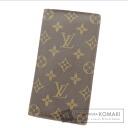 Authentic LOUIS VUITTON  Porte Valeurs Cartes Credit M61823 Wallet (no coin purse) Monogram canvas