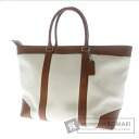 Authentic COACH  with logo with Shoulder bag Canvas x Leather