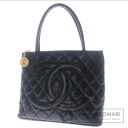Authentic CHANEL  Standard Tote bag Leather