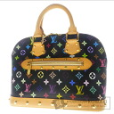 Authentic LOUIS VUITTON  Alma M92646 Handbag Monogram Multicolore canvas