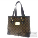 Authentic LOUIS VUITTON  Hampstead PM N51205 Handbag Damier Canvas