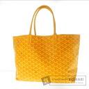 Authentic GOYARD  Saint-Louis Tote bag PVCx Leather