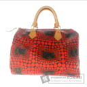 Authentic LOUIS VUITTON  Speedy 30 pumpkin dot Kusamayayoi M40693 Handbag Monogram canvas