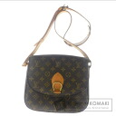 Authentic LOUIS VUITTON  Saint Cloud24 M51242 Shoulder bag Monogram canvas