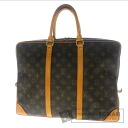 Business bag Monogram Canvas men's LOUIS VUITTON voyage M53362