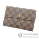 Authentic LOUIS VUITTON  Porte TresorEtui papier N61202 Shoulder bag Damier Canvas