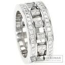Diamond Ring 18K White Gold  13.2