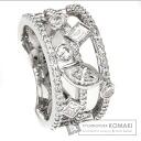 1.11ct Diamond Ring 18K White Gold  10.4