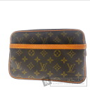 Authentic LOUIS VUITTON  compiegne28 M51845 business bag Monogram canvas