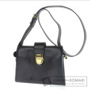 Authentic marie claire  Hardware logo Shoulder bag Leather