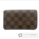 Authentic LOUIS VUITTON  Portefeiulle Torezoru N61736 (With coin purse) Purse Damier Canvas