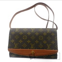 Authentic LOUIS VUITTON  Bordeaux M51797 Shoulder bag Monogram canvas