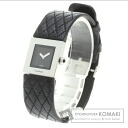 CHANEL matelasse watch SS / Leather Womens